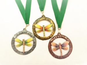 Medals custom hand made in Haiti for this event